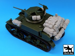 M3A1 Stuart accessories set  (Vista 1)