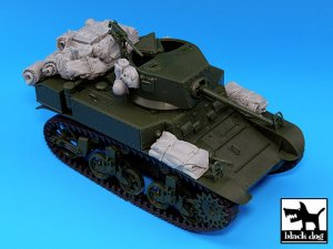 M3A1 Stuart accessories set  (Vista 2)