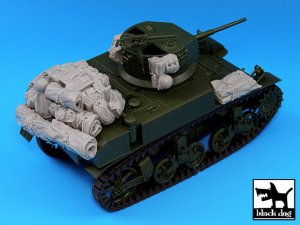 M3A1 Stuart accessories set  (Vista 3)