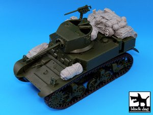 M3A1 Stuart accessories set  (Vista 4)