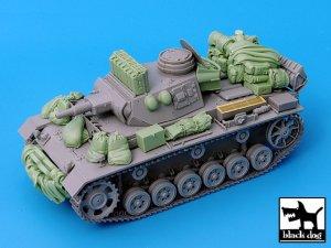 Pz.Kpfw.III Ausf.N accessories set  (Vista 3)