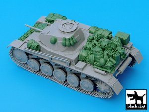 Pz.Kpfw. II Ausf C accessories set  (Vista 1)