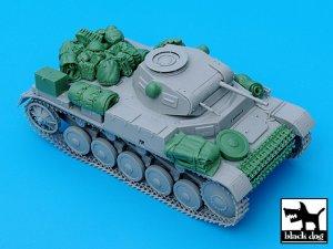 Pz.Kpfw. II Ausf C accessories set  (Vista 3)