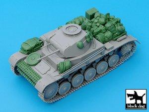 Pz.Kpfw. II Ausf C accessories set  (Vista 4)
