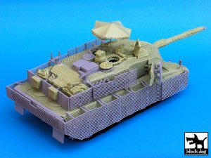 Leopard 2A6M Can Barracuda  (Vista 4)