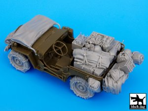 US Jeep big accessories set  (Vista 4)