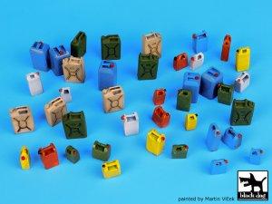 Moder plastic cans accessories set  (Vista 1)