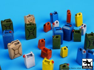 Moder plastic cans accessories set  (Vista 2)