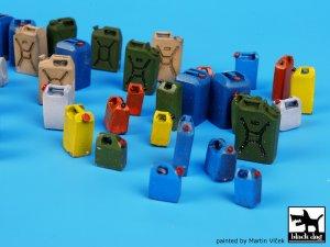 Moder plastic cans accessories set  (Vista 3)
