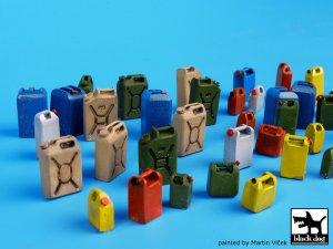 Moder plastic cans accessories set  (Vista 4)
