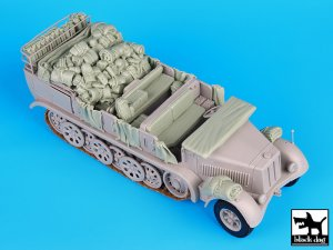 Sd. Kfz. 8 big accessories set  (Vista 1)