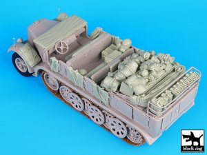 Sd. Kfz. 8 big accessories set  (Vista 3)