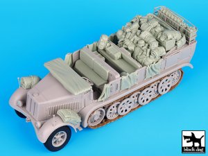 Sd. Kfz. 8 big accessories set  (Vista 4)