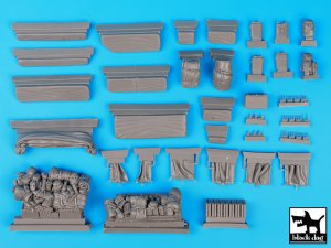 Sd. Kfz. 8 big accessories set  (Vista 5)