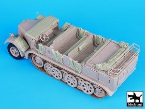 Sd.Kfz 8 accessories set  (Vista 3)