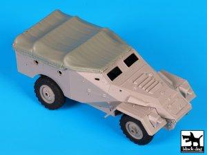 BTR 40 canvas accessories set  (Vista 1)