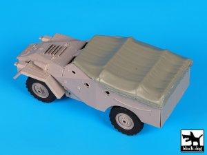 BTR 40 canvas accessories set  (Vista 2)
