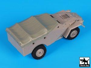BTR 40 canvas accessories set  (Vista 4)