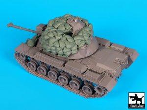 M48A3 sandbags accessories set  (Vista 4)