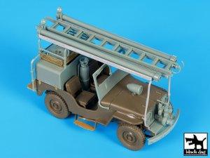 Jeep Willys CJ2A Fire truck  (Vista 1)