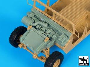 Engine M 1025 Humvee  (Vista 1)
