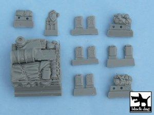 Sturmgeschutz III  accessories set  (Vista 5)