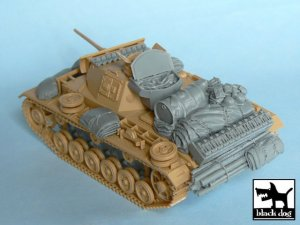 Pz.Kpfw. III Ausf L accessories set  (Vista 3)