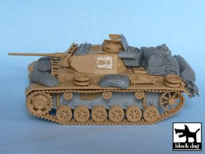 Pz.Kpfw. III Ausf L accessories set  (Vista 4)
