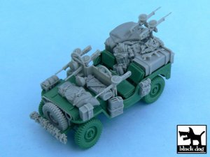 British SAS Jeep Europe 1944  (Vista 1)