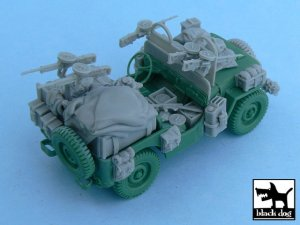 British SAS Jeep Europe 1944  (Vista 2)