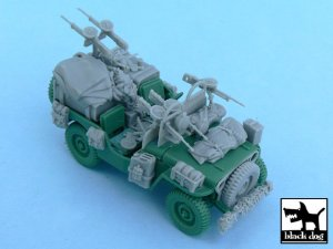 British SAS Jeep Europe 1944  (Vista 3)