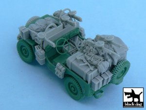 British SAS Jeep Europe 1944  (Vista 4)
