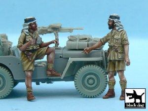 British SAS Jeep crew Afrika   (Vista 1)