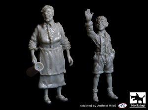 Abuela y nieto  (Vista 1)