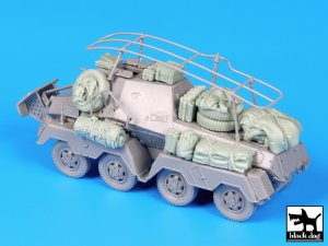 Sd Kfz 263 accessories set  (Vista 1)