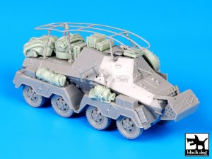 Sd Kfz 263 accessories set  (Vista 2)