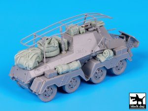 Sd Kfz 263 accessories set  (Vista 3)