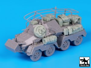 Sd Kfz 263 accessories set  (Vista 4)