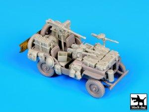 British SAS jeep  North Africa 1942  (Vista 1)