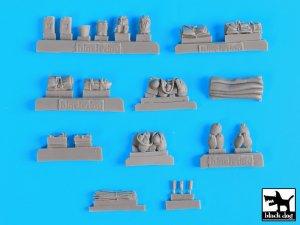 Sd.Kfz.251 accessories set  (Vista 5)