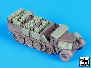 Sd.Kfz 7 accessories set  (Vista 3)