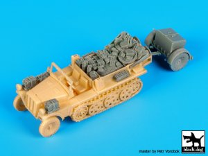 Sd.Kfz 10 with Sd.Ah.32 accessories set  (Vista 1)