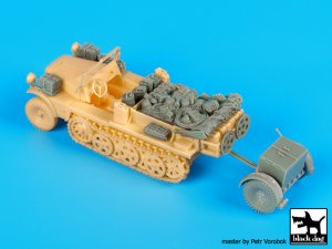 Sd.Kfz 10 with Sd.Ah.32 accessories set  (Vista 2)