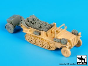 Sd.Kfz 10 with Sd.Ah.32 accessories set  (Vista 3)