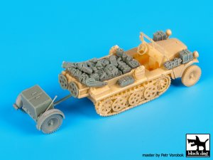 Sd.Kfz 10 with Sd.Ah.32 accessories set  (Vista 4)