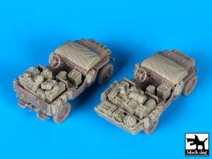 US Jeep accessories set  (Vista 4)