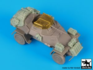 Sd.Kfz 222 accessories set  (Vista 1)