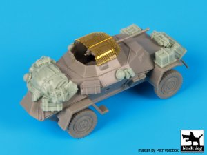 Sd.Kfz 222 accessories set  (Vista 4)