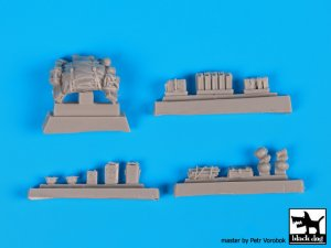 Sd.Kfz 222 accessories set  (Vista 5)