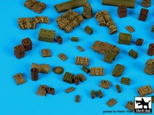 British WW II equipment accessories set  (Vista 2)